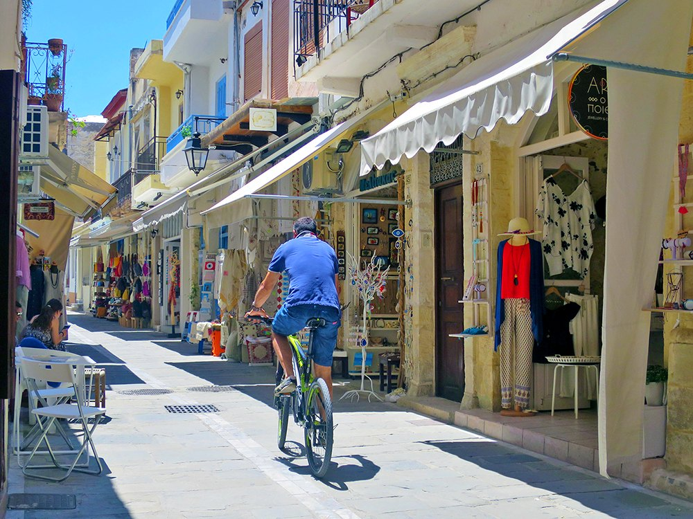Kreta: Shopping in Rethymno