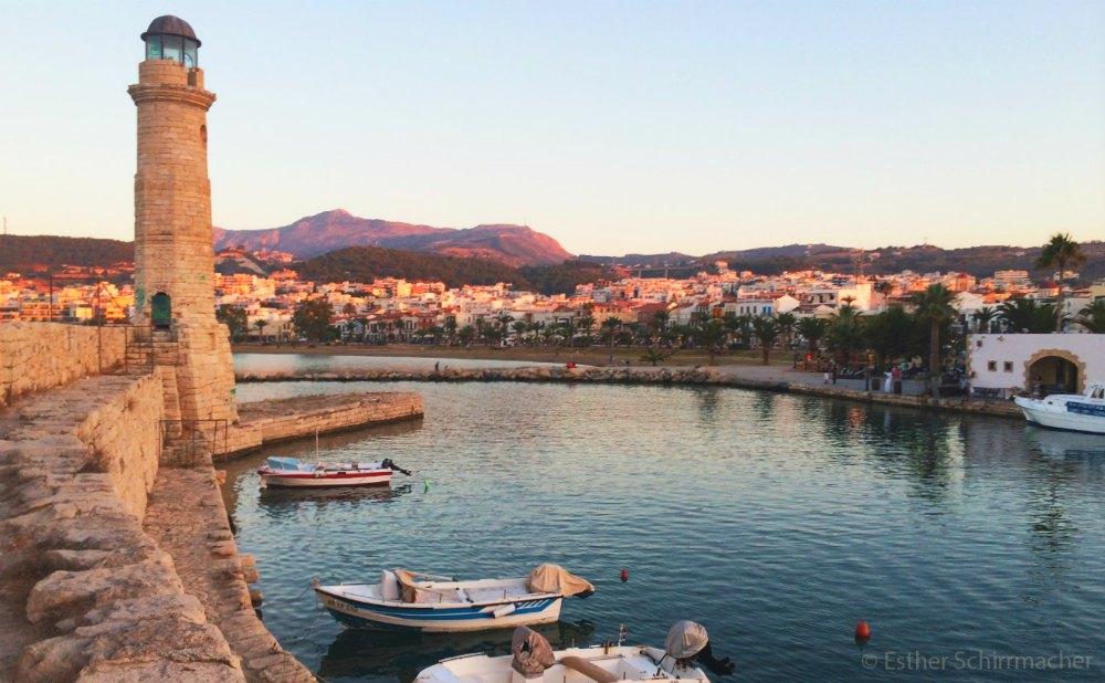 Hafen von Rethymno | Bild: Esther's Travel Guide