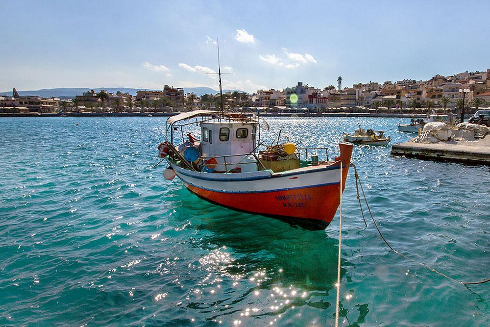 Hafen von Sitia | Bild: reise-zikaden.de