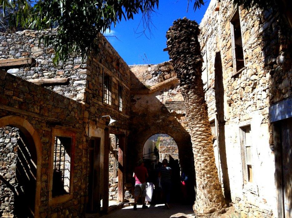 Festung Spinalonga auf Kreta
