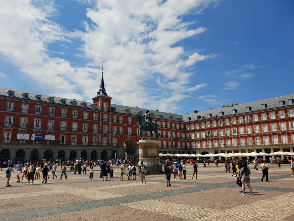 Plaza Real in Madrid
