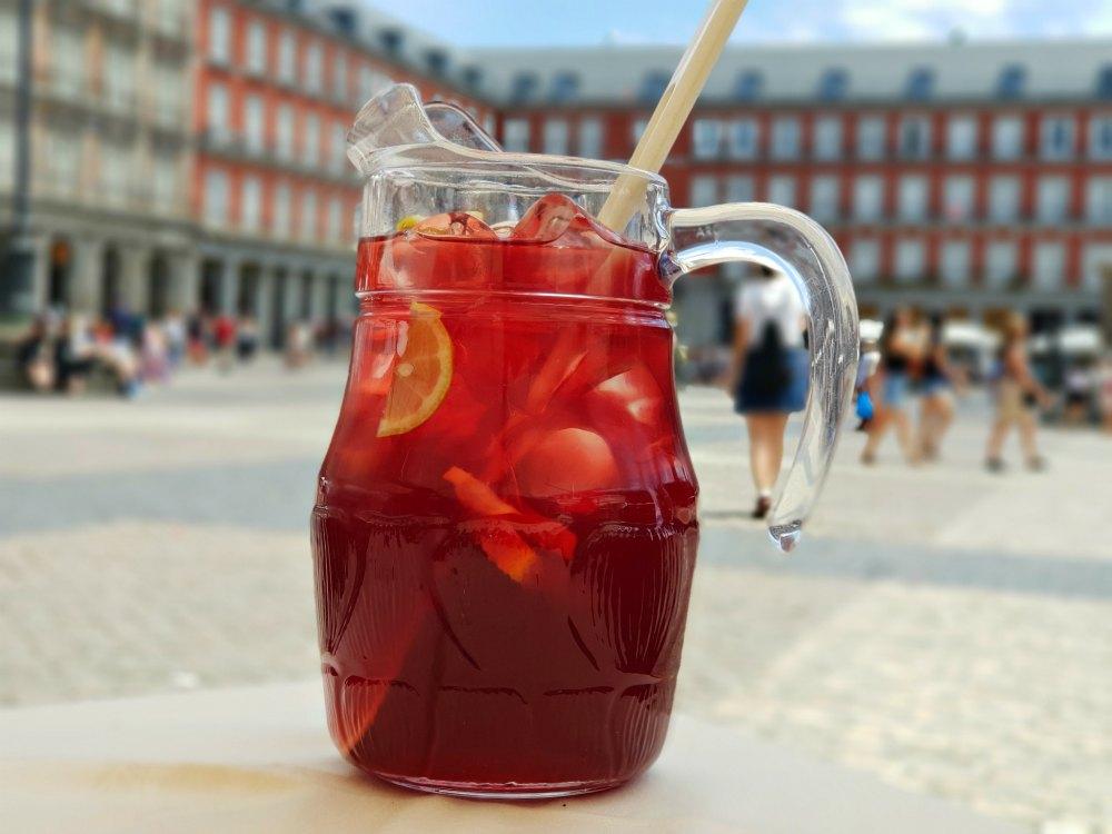 Erfrischung im hochsommerlichen Madrid