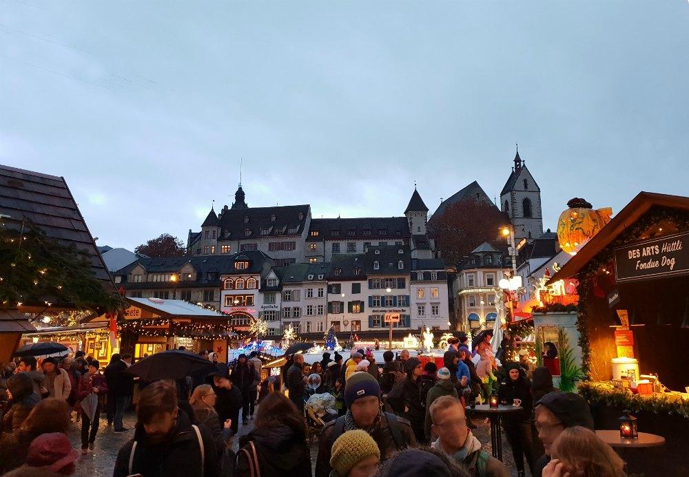 Stadtetrip Basel Im Winter