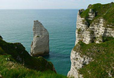 Wohnmobil-Tour in der Normandie: Von der Alabasterküste bis zum Mont-Saint-Michel