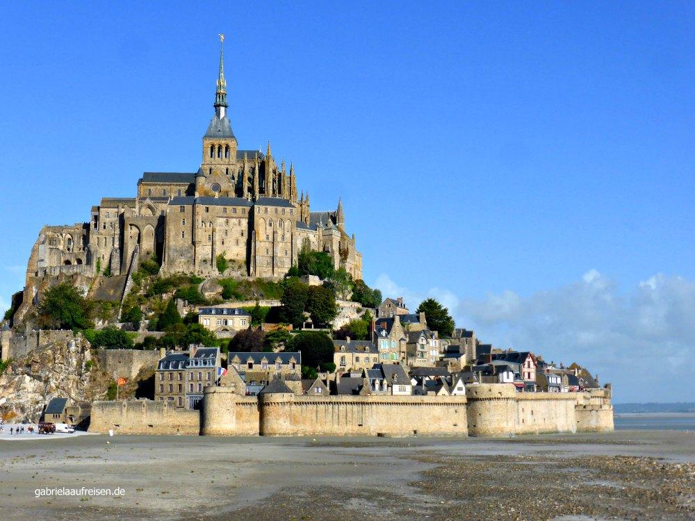 Normandie Tipp: Mont Saint Michel, Bild: Gabriela auf Reisen