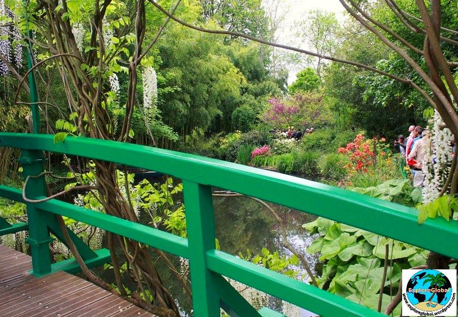 Garten von Monet, Giverny, Bild: ExploreGlobal