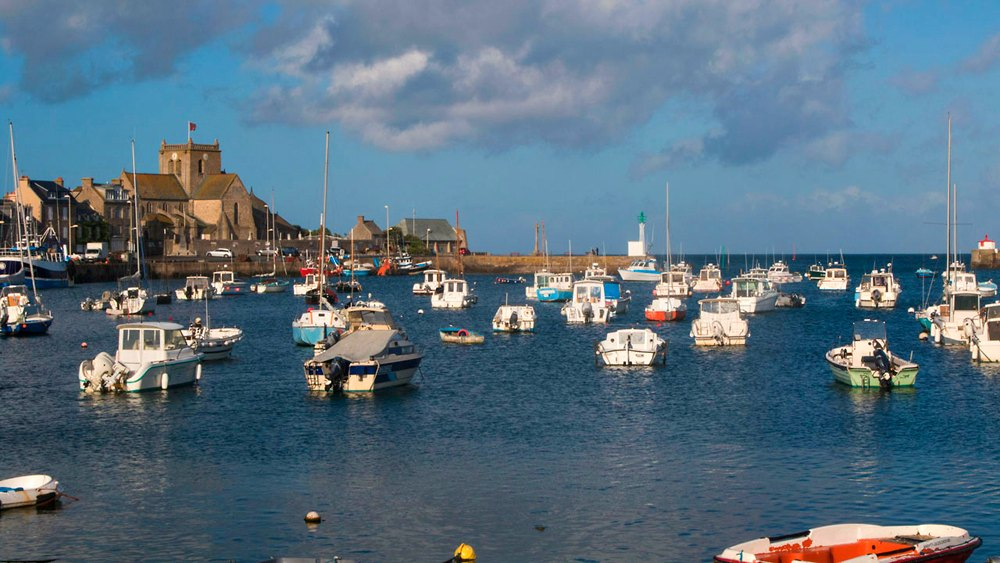 Normandie Tipp: Barfleur, Bild: Chien Normandie