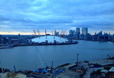 Up at the O2: Wie ich der O2 Arena in London aufs Dach stieg