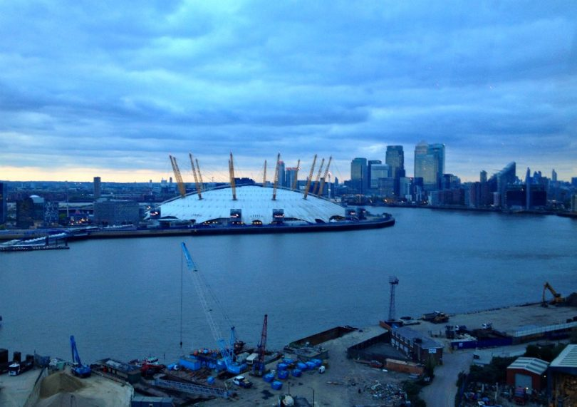Up at the O2: Wie ich der O2 Arena in London aufs Dach stieg