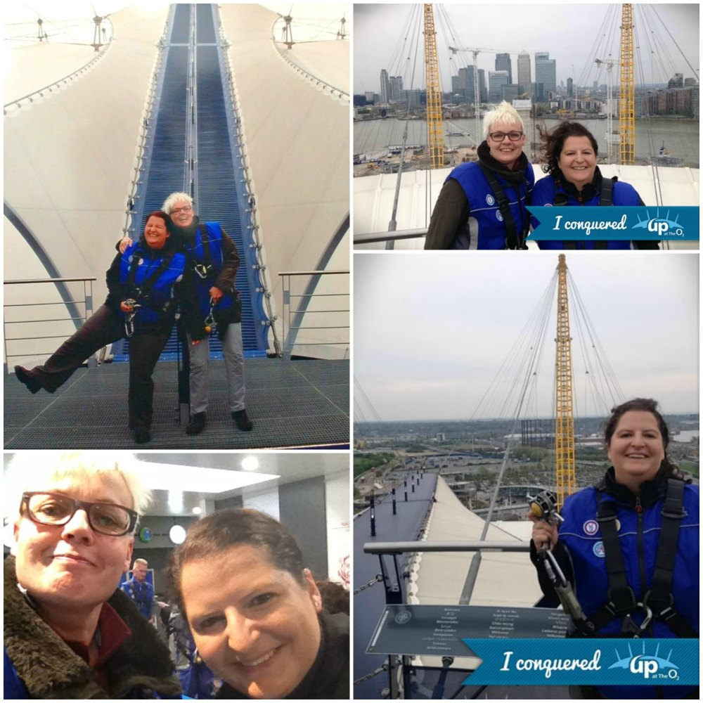 Mein Erlebnis-Tipp: Up at the O2 in London