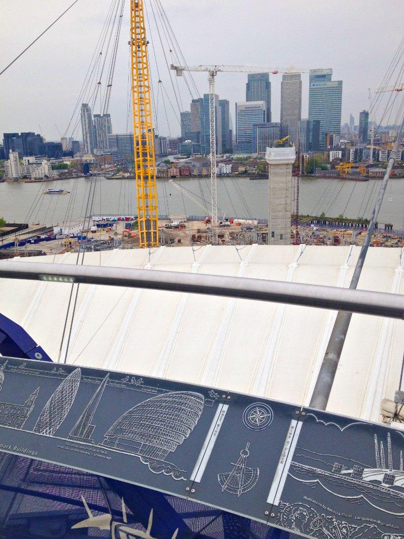 Londons Sehenswürdigkeiten von oben: Up at the O2