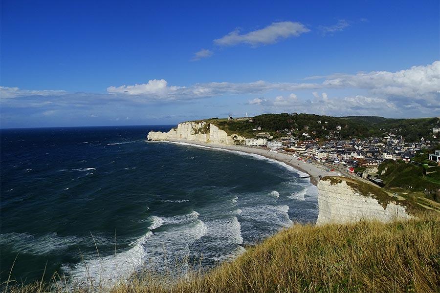Normandie Tipp: Etretat und seine Kreidefelsen