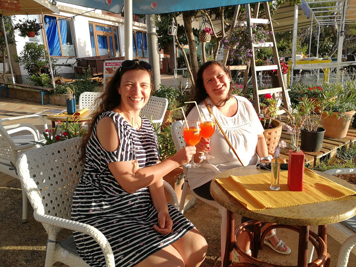 Kvarner Bucht: Sundowner in Ilovik