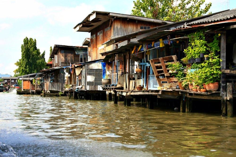 Thailand-Foto #17: In den Klongs von Bangkok