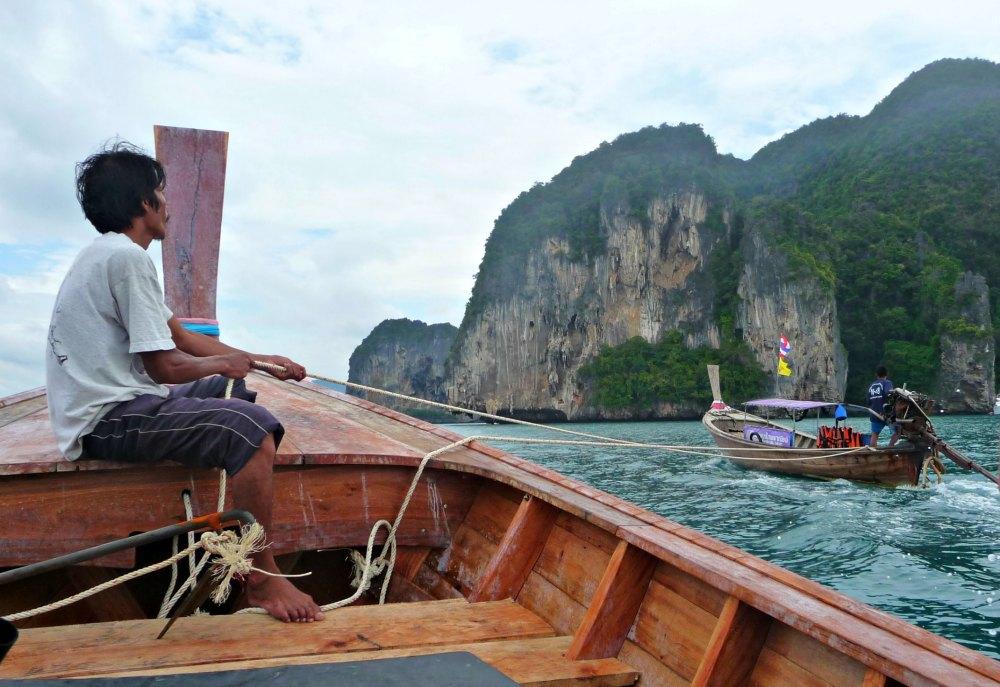 Thailand-Foto #12: Inselhüpfen in der Andamanensee