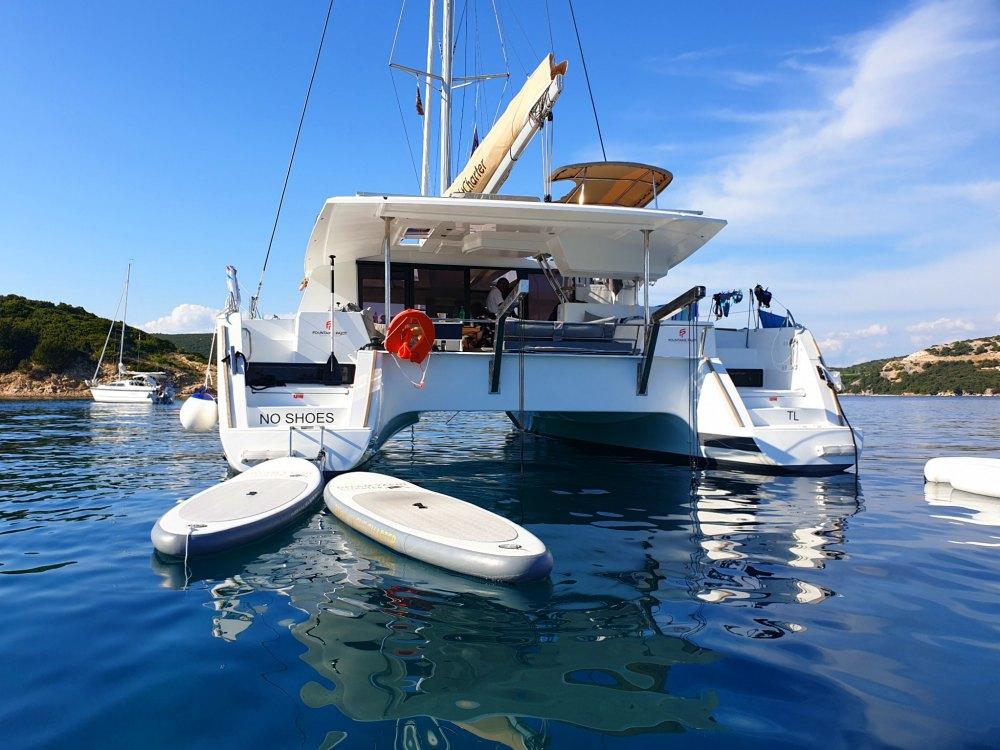 Segelurlaub in Kroatien: Katamaran Helia 44