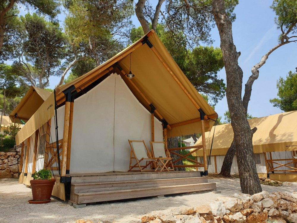 Glamping Resort Marina Pomer in Kroatien