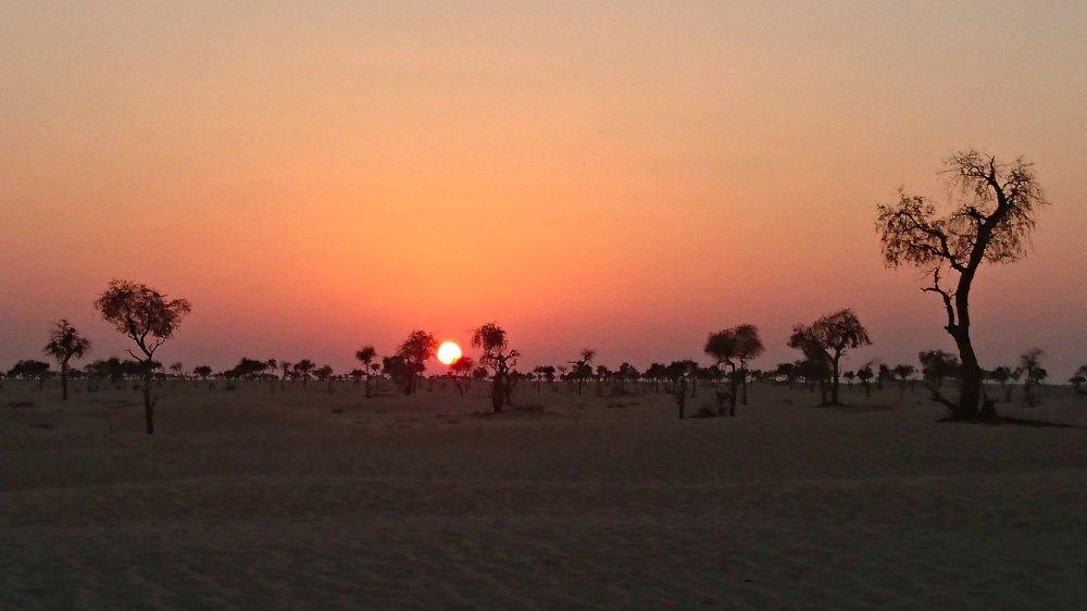 Mystische Stimmung am Rand der Rub-al-Khali-Wüste