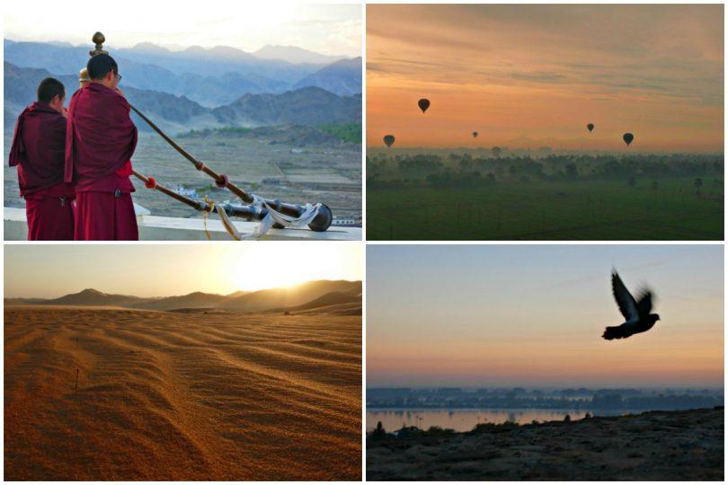 Meine schönsten Sonnenaufgänge: Fotos, Bilder, Impressionen