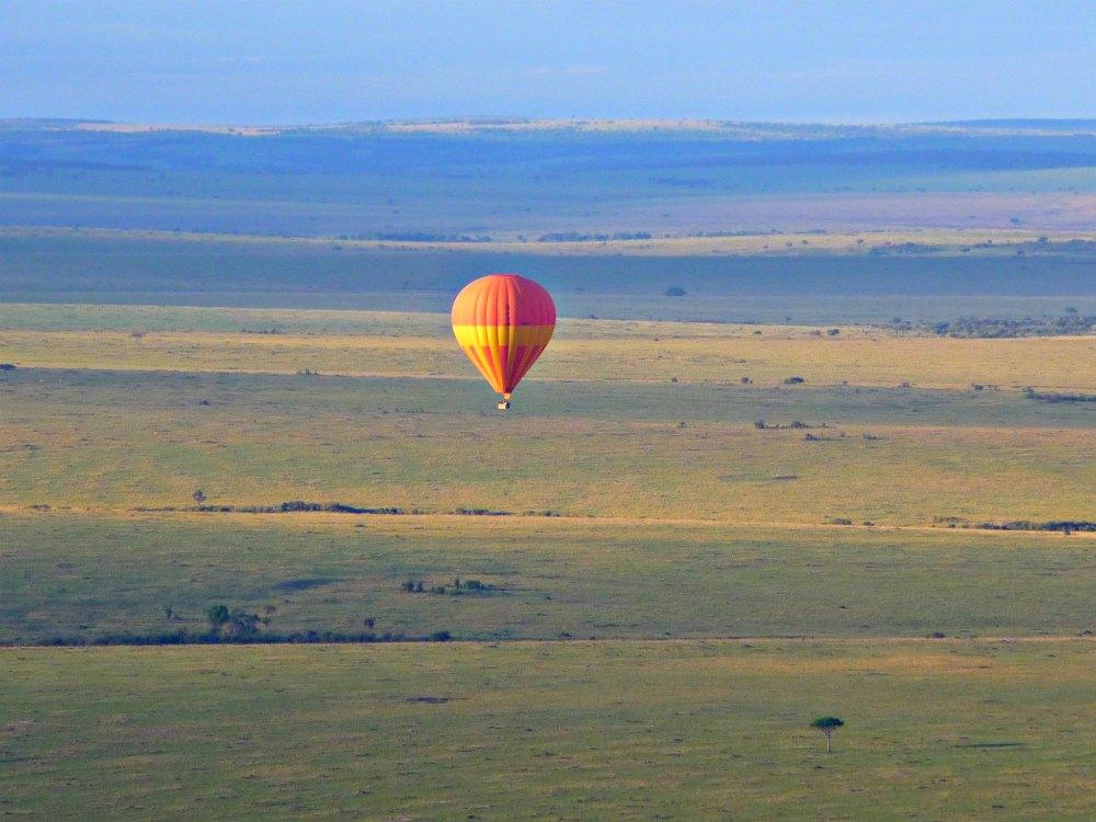 Bilder: Heißluftballonfahrt Masai Mara