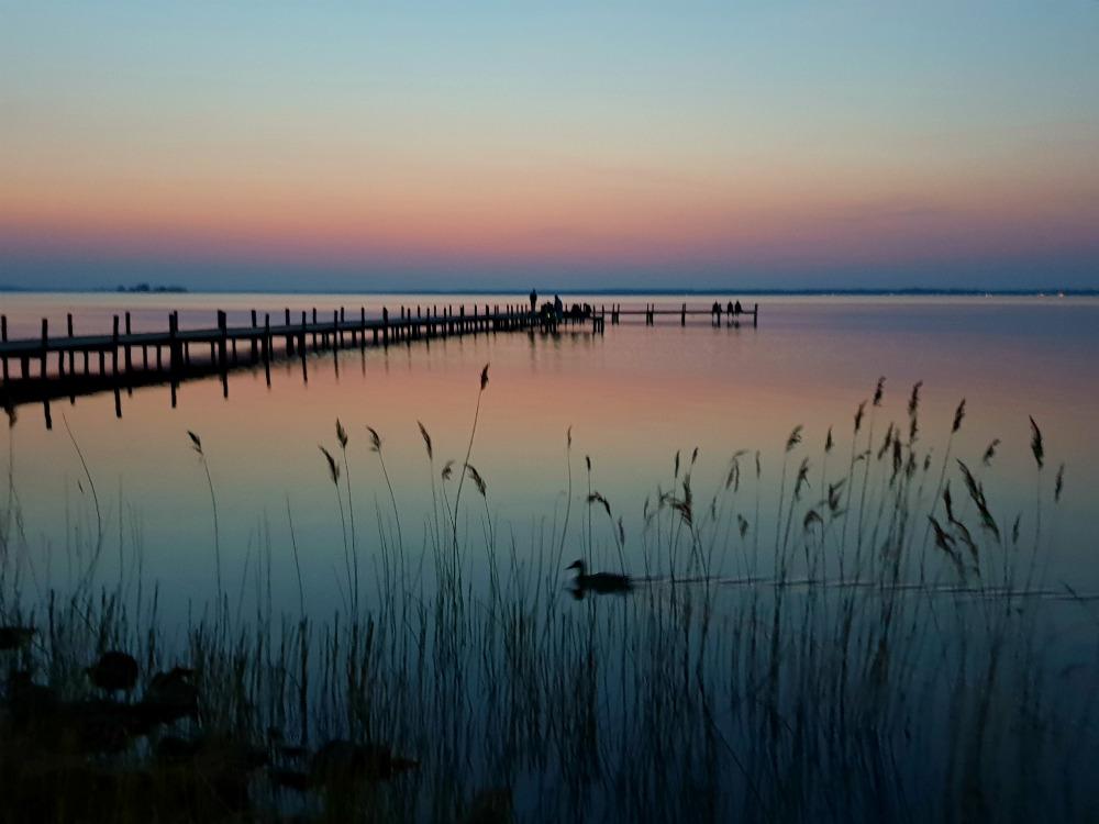 Steinhuder Meer ganz in Pastell