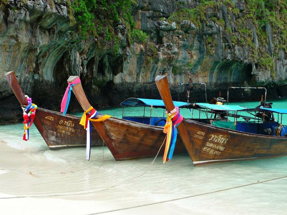 Thailand-Foto #01: Traumstrand Maya Bay auf Ko Phi Phi