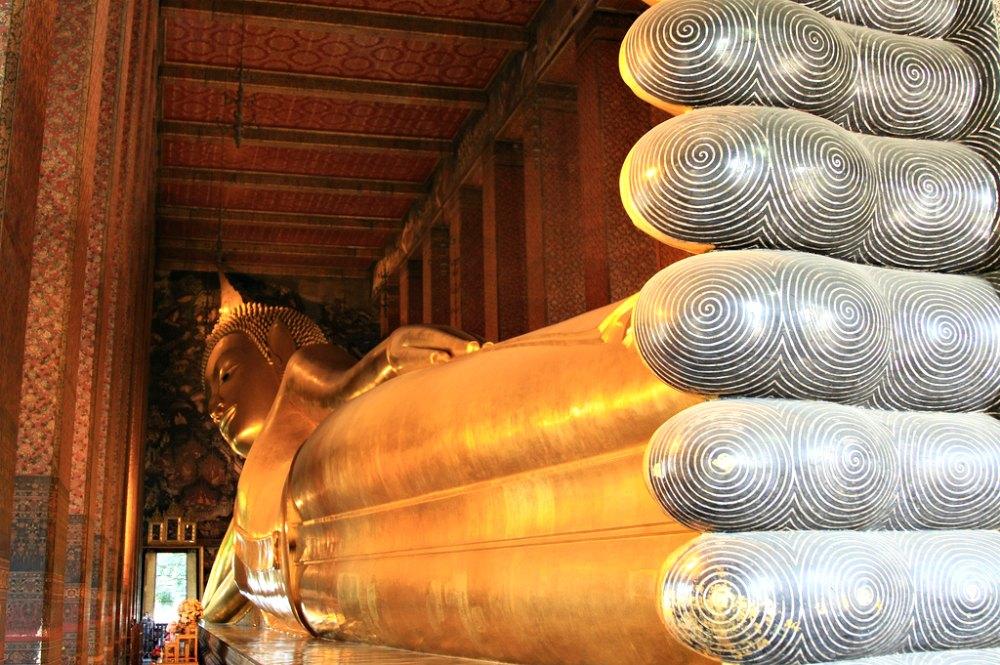 Wat Pho - der Tempel des liegenden Buddhas in Bangkok