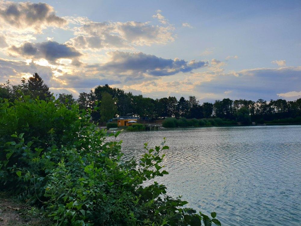 Sommer daheim am Baggersee