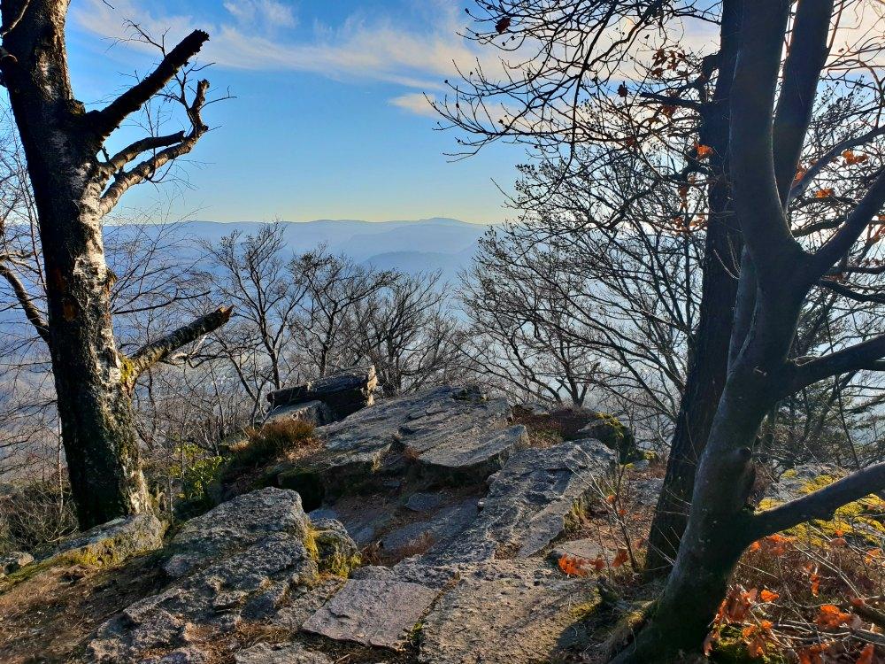 Wanderung am Battert-Felsen in Baden-Baden