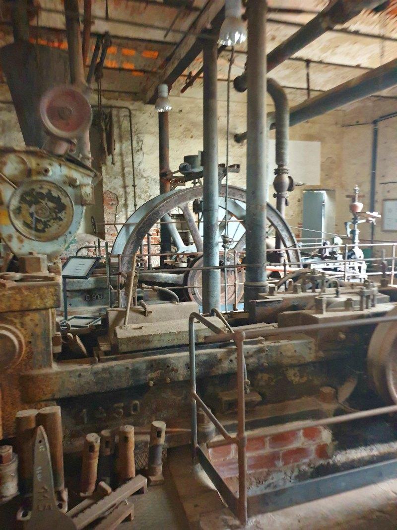 Industriekultur in der Brikettfabrik Herrmannsschacht