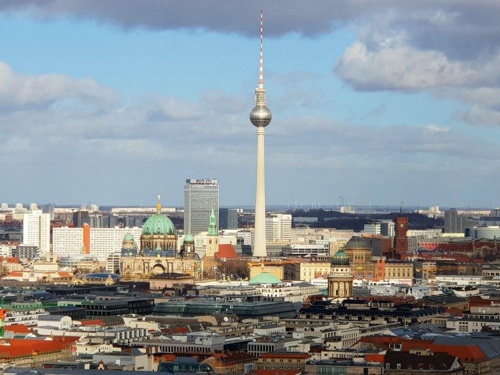 Berlin: Panaromapunkt Potsdamer Platz