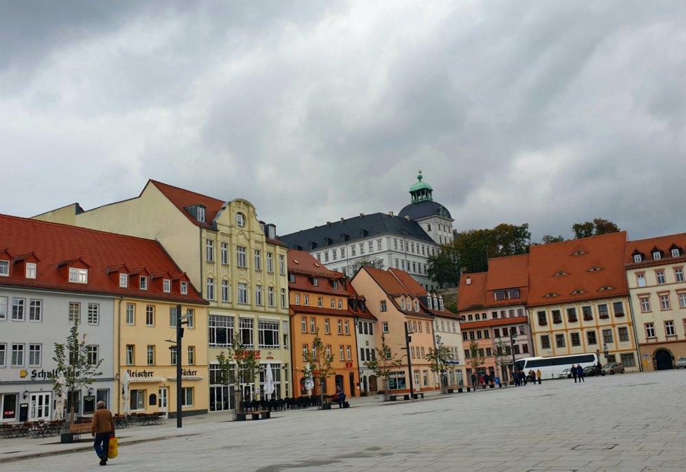 Marktplatz von Weißenfels
