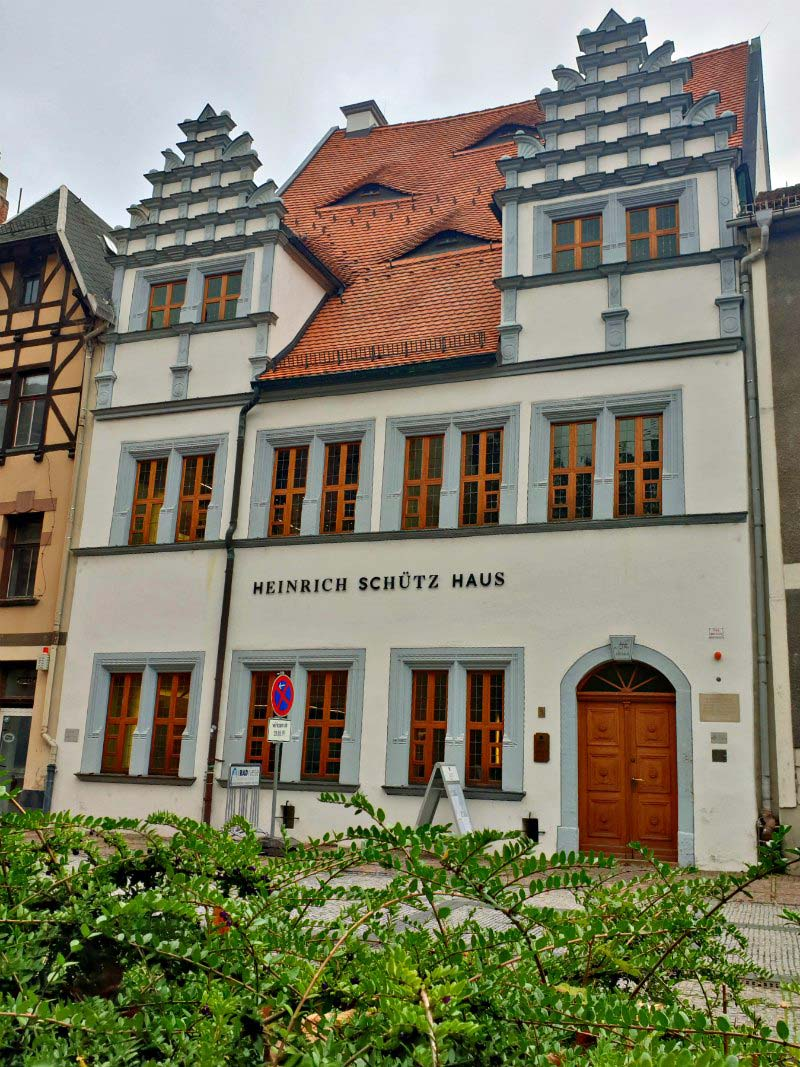 Heinrich-Schütz-Haus in Weißenfels