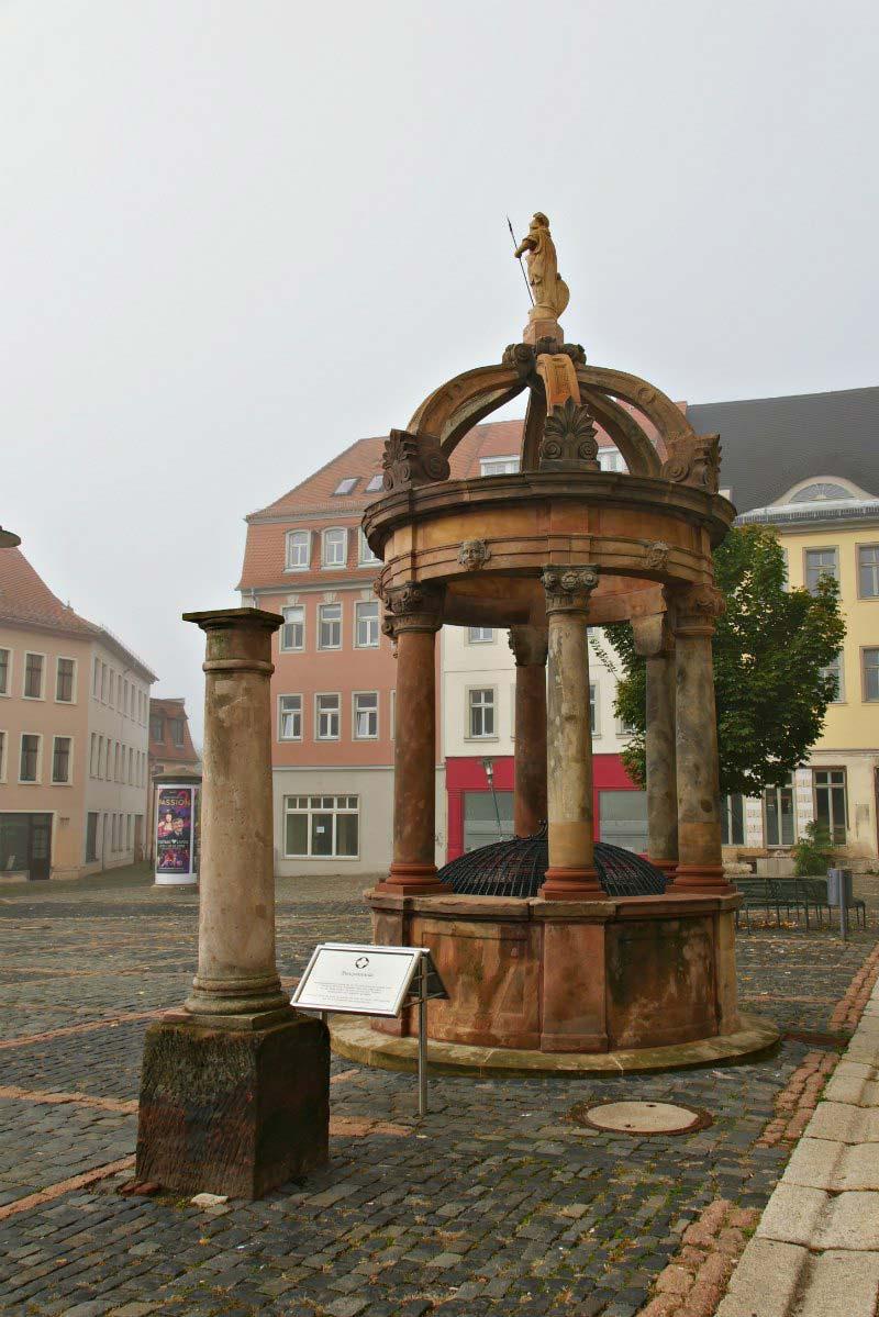 Marktplatz Merseburg, Saale-Unstrut