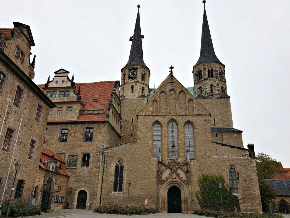 Residenzstädte Saale-Unstrut: Merseburger Dom an der Straße der Romanik
