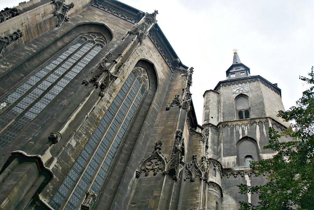 Stadtkirche St. Wenzel und Türmerwohnung