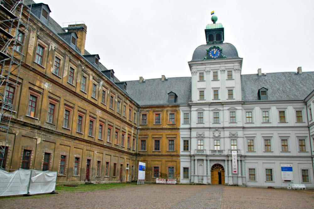 Residenzstädte Saale-Unstrut: Schloss Neu-Augustusburg in Weißenfels