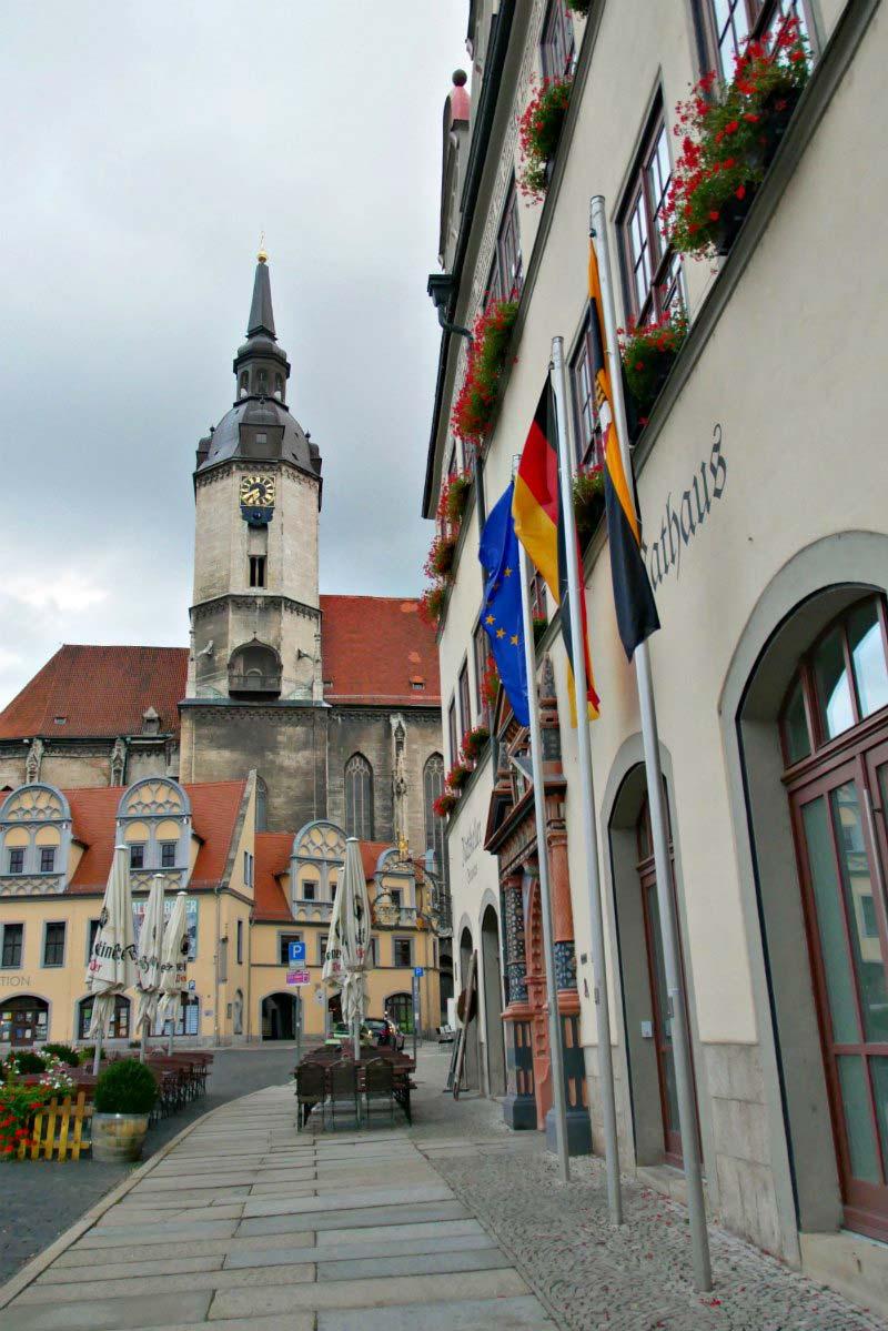 Marktplatz von Naumburg (Saale)