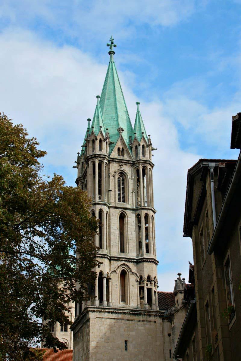 Naumburger Dom: Turm des Westchors