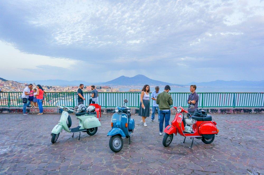 Vespa-Tour in Neapel | Bild: Good morning world