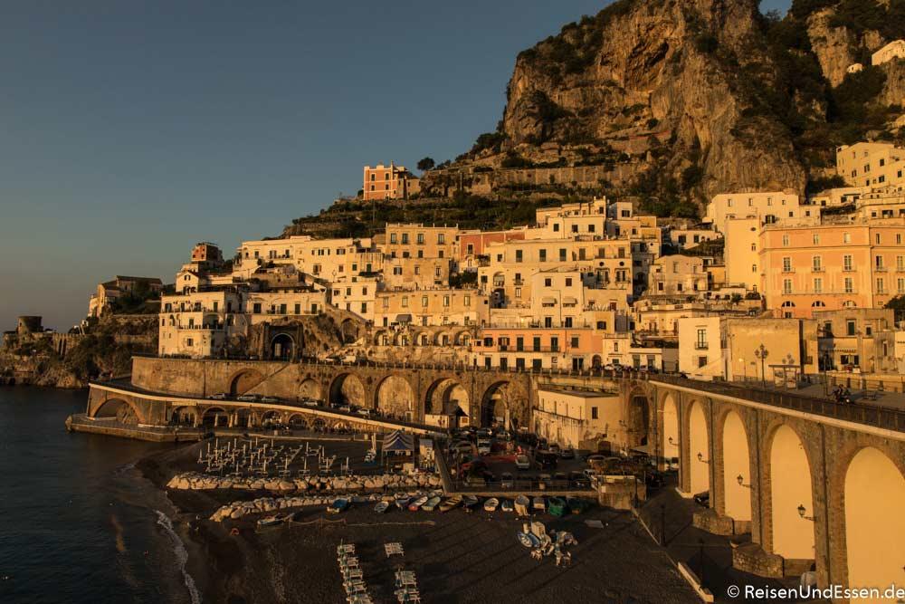 Amalfiküste bei Atrani | Bild: Reisen und Essen