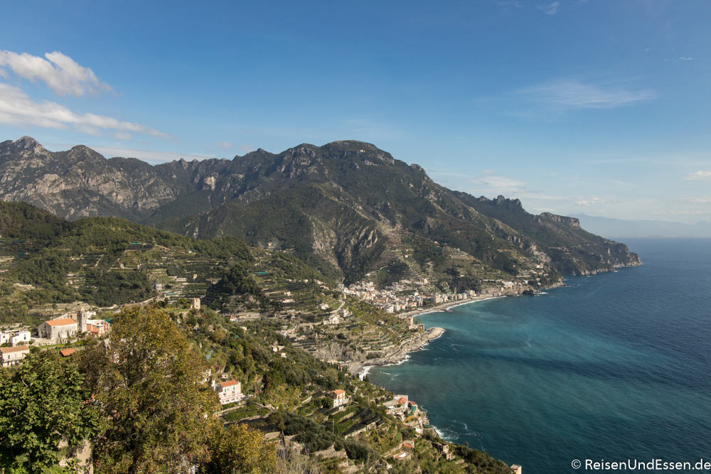 Amalfiküste - Blick von Ravello | Bild: Reisen und Essen
