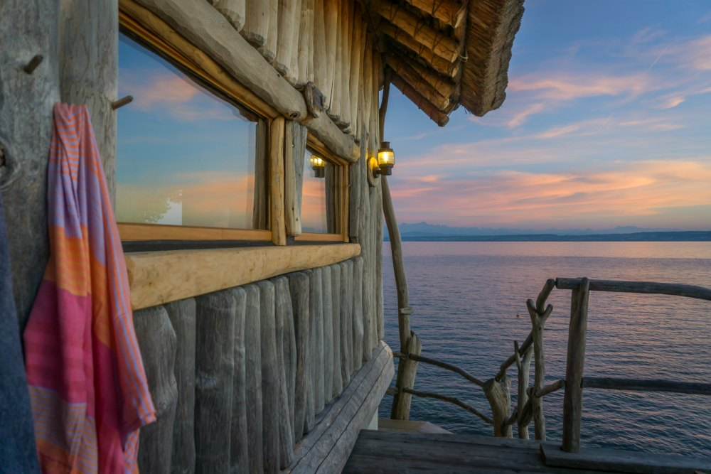 Meersburg Therme: Nach der Sauna ein Bad im Bodensee | Bild: Good Morning World