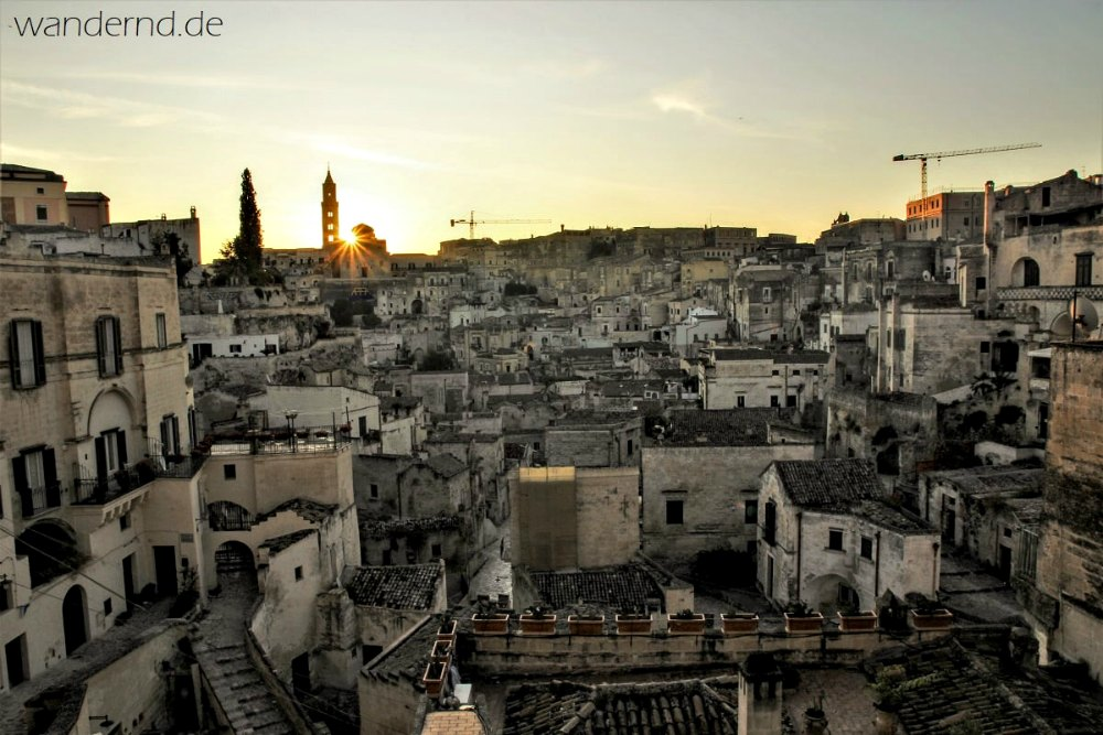 Matera in der Basilicata | Bild: Wandernd