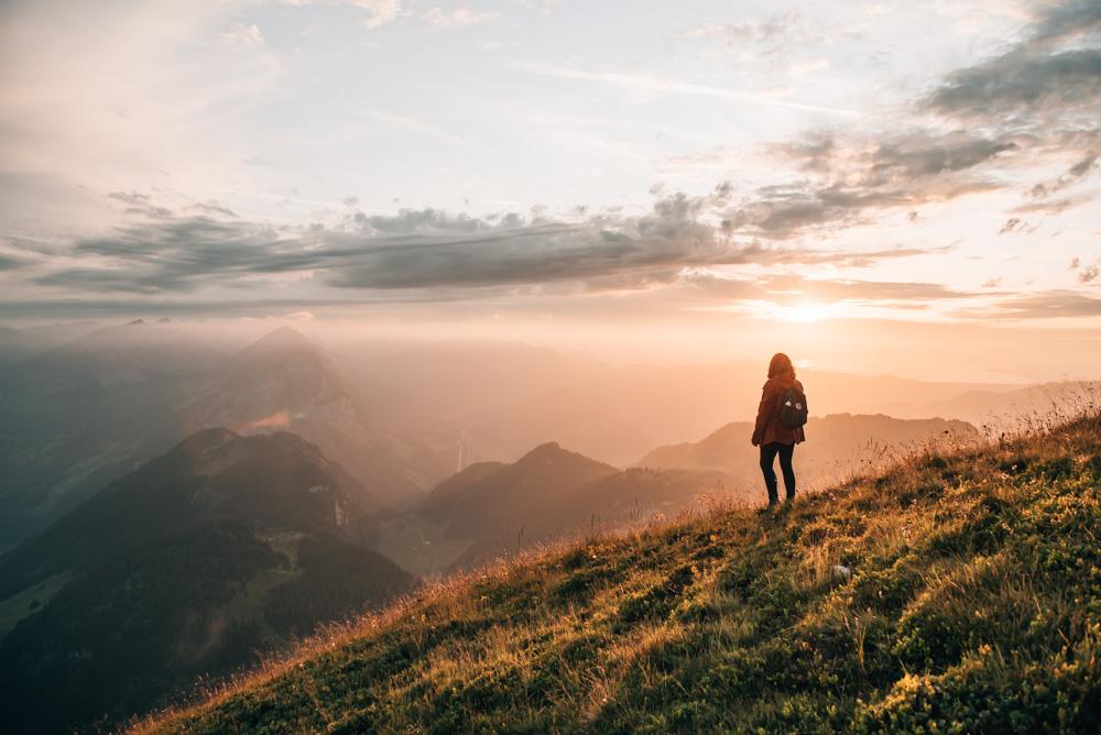 Sonnenuntergang im Bregenzer Wald | Bild: Sommertage