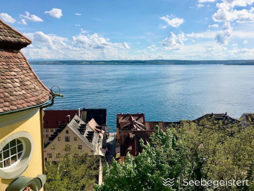 Top 3 Bodensee-Aussicht: Neues Schloss Meersburg | Bild: Seebegeistert