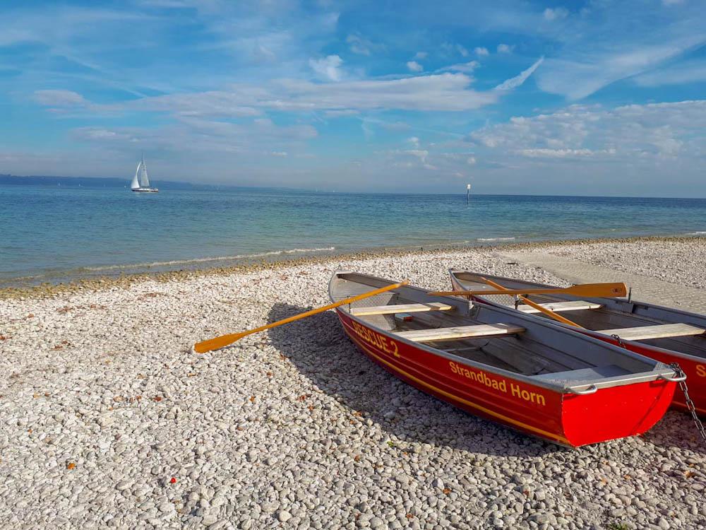 Strandbad Horn in Konstanz am Bodensee | Bild: Travelsanne