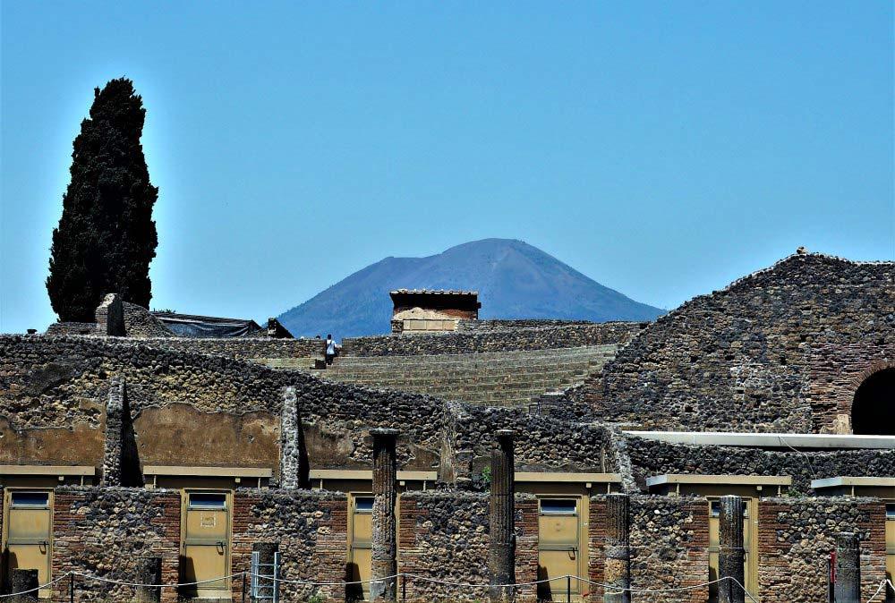 Der Vesuv und Pompeji | Bild: Bestager Reiseblog