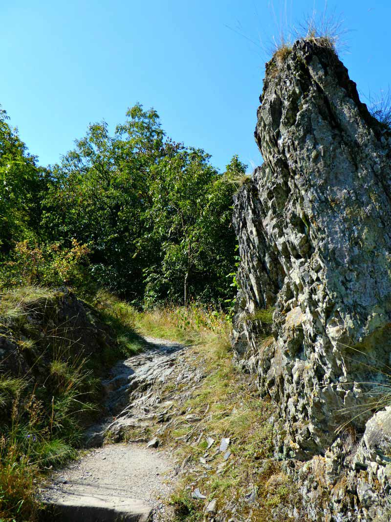 Manderscheider Burgenstieg: Pfad zur Oberburg