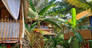 Strandhütte in Goa: Secret Garden in Agonda